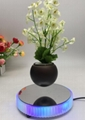 new rotating magnetic suspension levitate floating air bonsai potted gfit