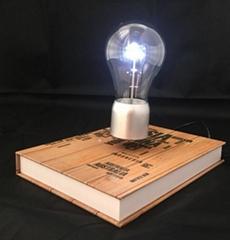 new rotating magnetic floating levitate bottom led bulbs