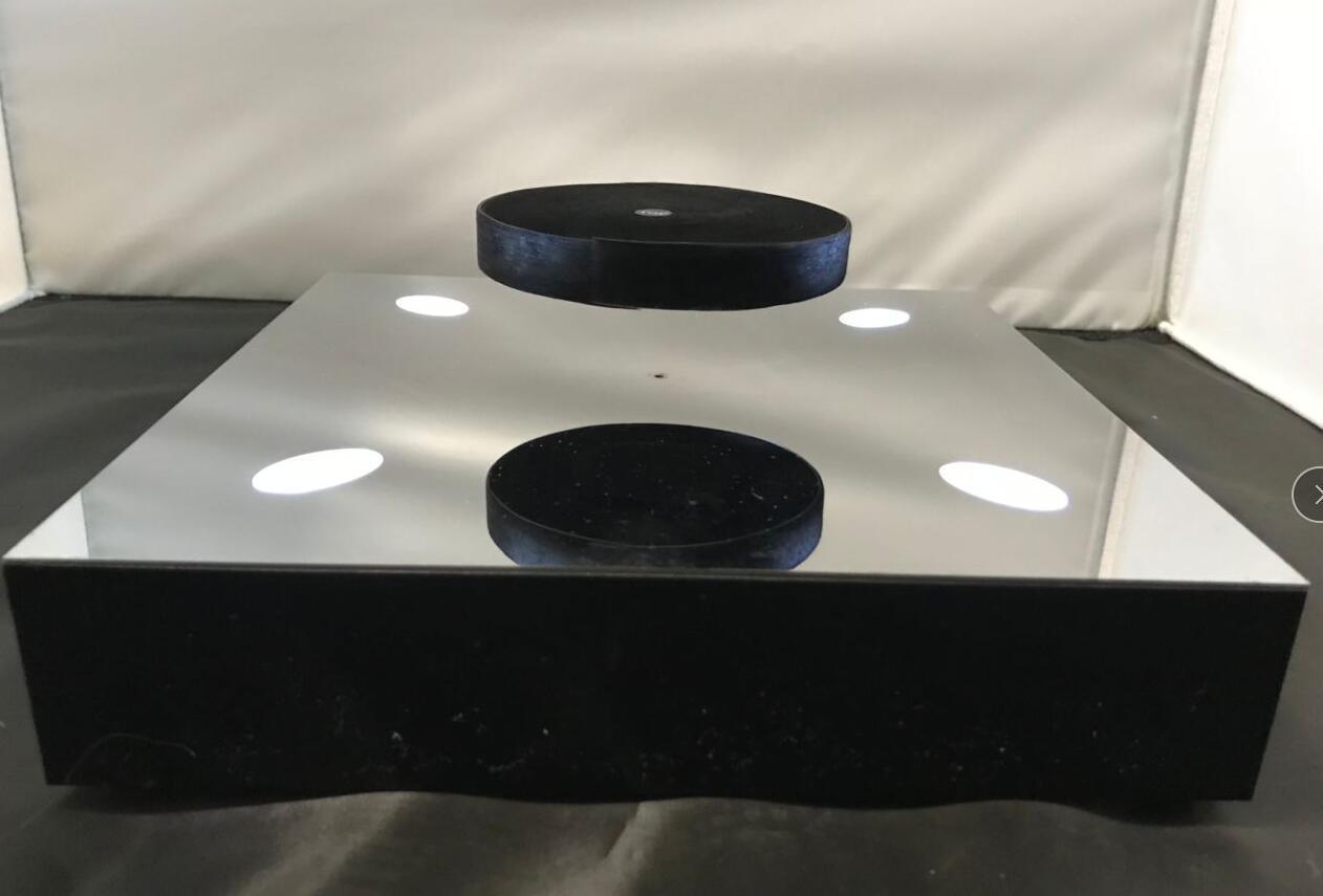 magnetic floating levitation 2kg bottle display rack  5