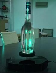 Octagon magnetic floating levitating beer bottle display 2kg