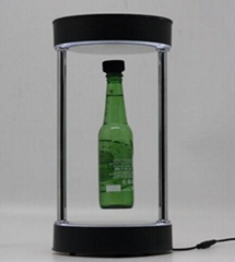 new magnetic floating pop beer bottle shoes display racks