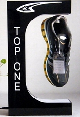 NEW customize magnetic floating leivtate pop shoes display stands