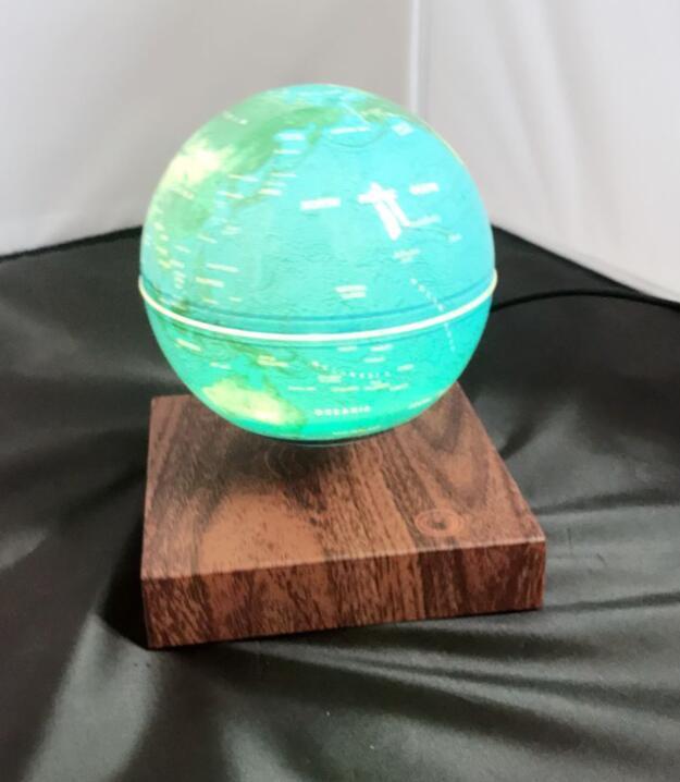 rotating levitating globe 6inch magnetic earth globe 5