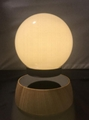 new rotating wireless magnetic floating led bulb light for home decor