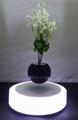 led light magnetic floating levitating air bonsai pot planter tree 0-500g 7