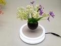 led light magnetic floating levitating air bonsai pot planter tree 0-500g 2
