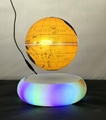 new colorful led light  magnetic floating levitate earth globe 8 inch