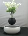 360 rotating ceramic magnetic floating levitate air bonsai pot  8