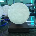 square base maglev floating levitating moon lamp  lighting 6inch bulb