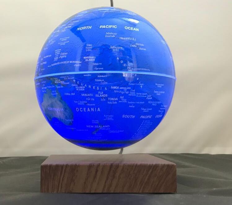 rotating levitating globe 6inch magnetic earth globe 7