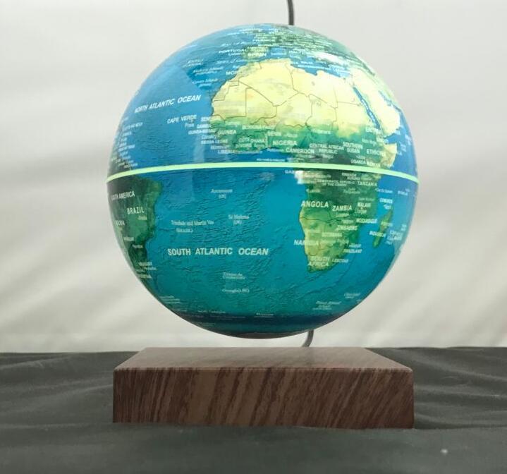 rotating levitating globe 6inch magnetic earth globe 9
