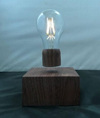 rechargeable wirless magnetic floating levitating led bulb lighting for gift
