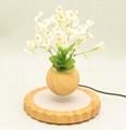 magnetic floating levitating air bonsai tree pot planter for gift