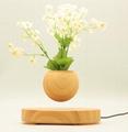 new rotating magnetic floating levitating flying air bonsai tree pot