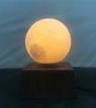new rechargable wireless magnetic floating levitate moon ball 6inch light change