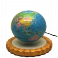magnetic levitating floating  6inch globe new model