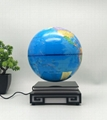 magnetic levitation floating bottom globe 8inch with lighting