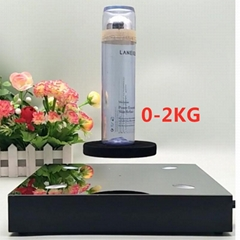 new magnetic levitation floating bottom 2kg beer bottle shoes display stands