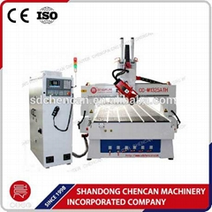 Professional Factory 4-axis wood cnc router CC-M1325ATH