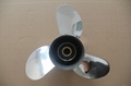 Stainless Steel Boat Propeller for Outboard Motor 60-130HP 2