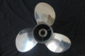 Stainless Steel Boat Propeller for Outboard Motor 60-130HP 5