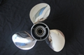 Stainless Steel Boat Propeller for Outboard Motor 60-130HP 4