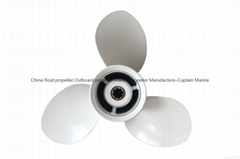 3 Blades Aluminum Alloy propeller for YAMAHA Motor 85HP-115HP  13 1/4 x 17