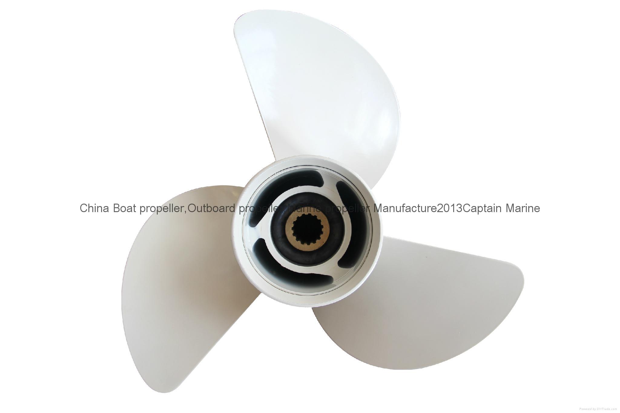 3 Blades Aluminum Alloy propeller for YAMAHA Motor 85HP-115HP  13 1/4 x 17 5