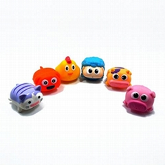 PVC baby bath toys