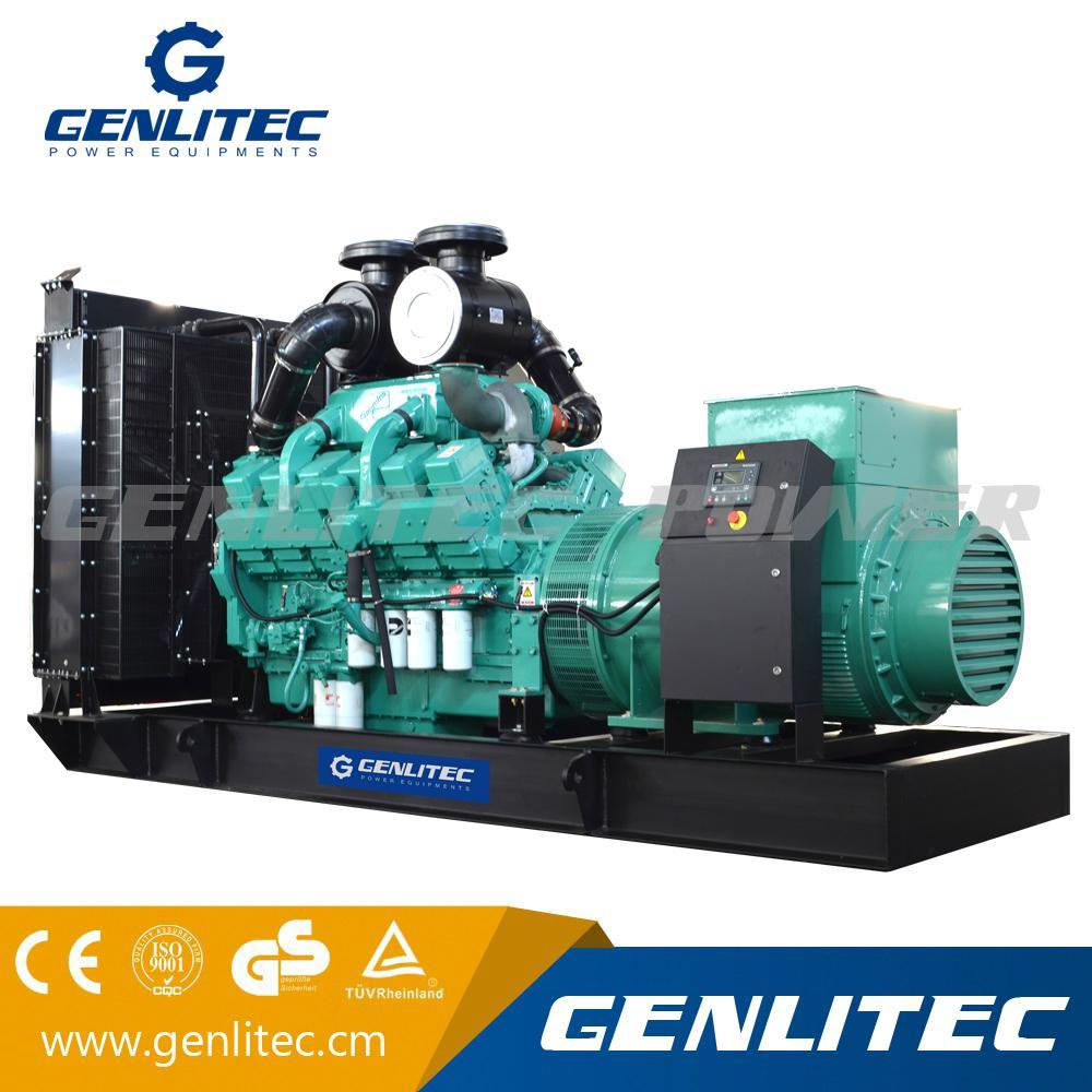 Industrial Cummins 600kw 750kVA Big Power Diesel Generator Set (GPC750) 1  ...