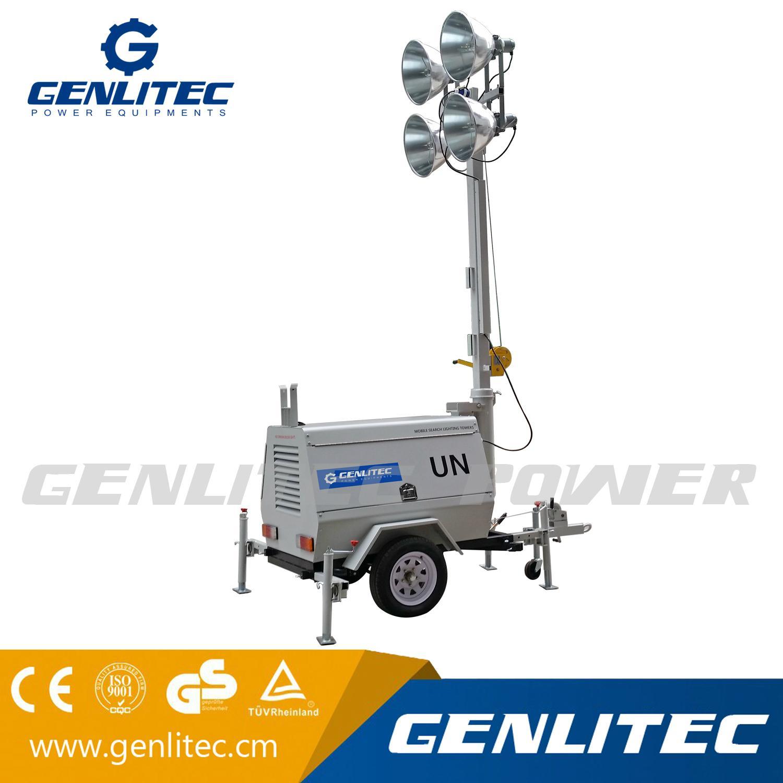 Kubota / Perkins Outdoor Mobile Lighting Tower (GLT4000-9M) 5