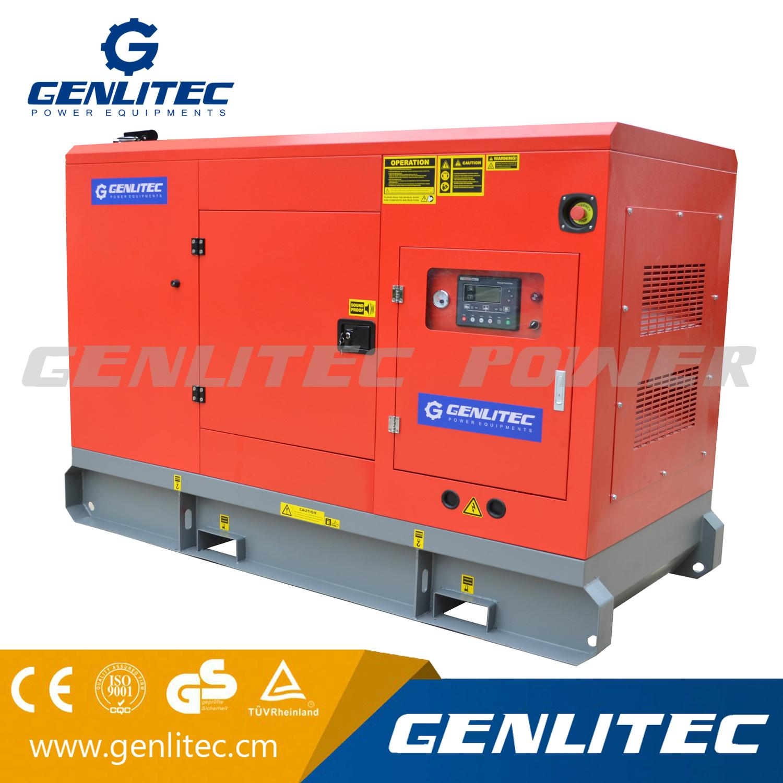 80kVA Silent Diesel Generator with Cummins Engine 4BTA3 9 G11