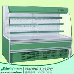 超市2米A款內機水果風幕冷櫃