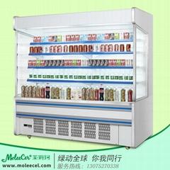 超市冰櫃2米內機A款水果風幕冷藏櫃