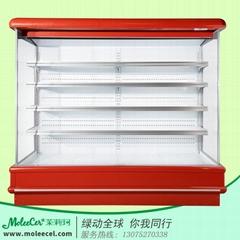 超市2米歐款外機風幕冷藏櫃
