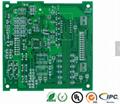 Green Ink 1oz Copper Rigid Circuit Board