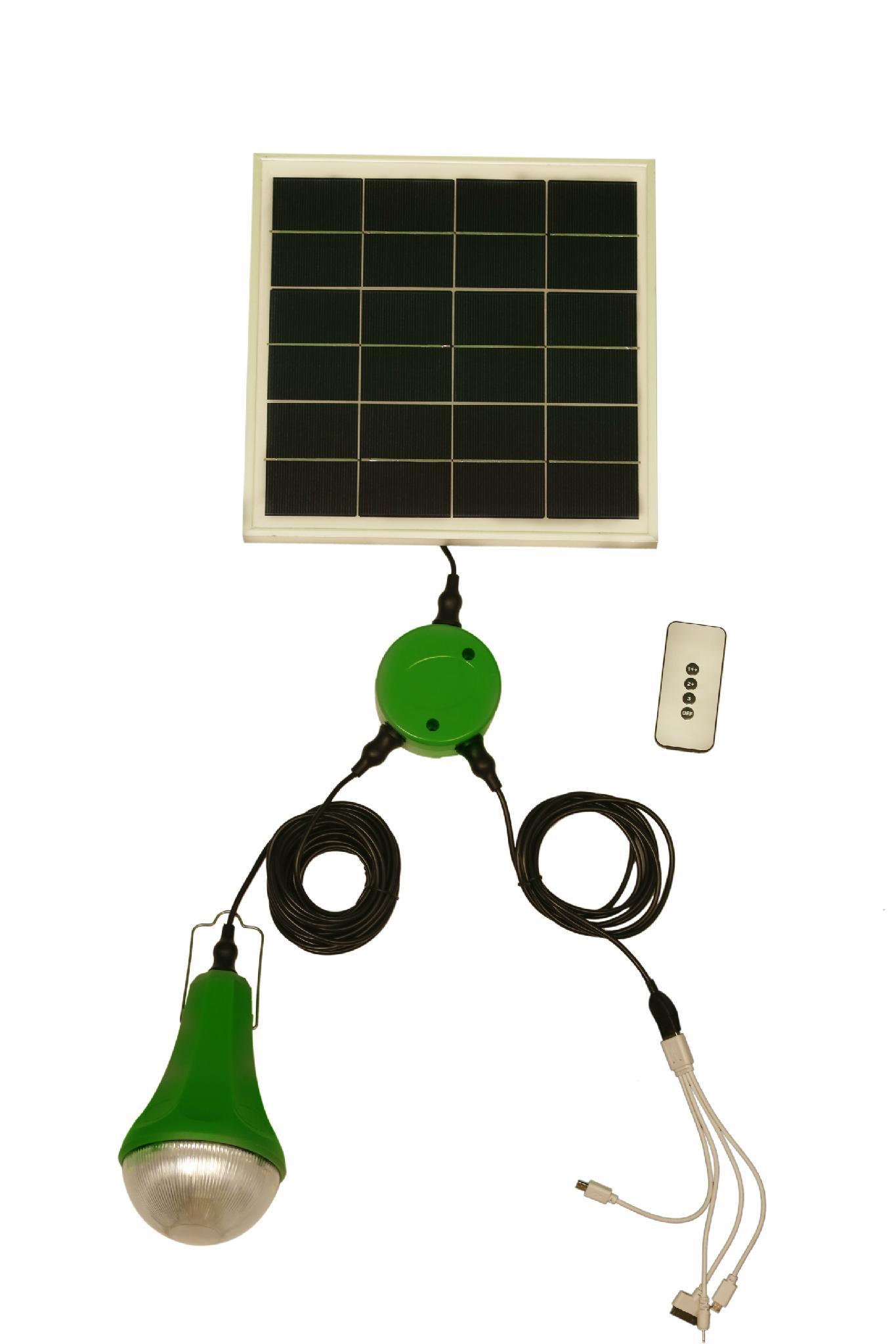 Portable Solar Home Lighting System LED Light Solar Power System