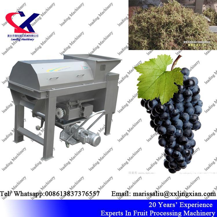 China Direct Manufacturer Grape Destemmer and Crusher Machine 1