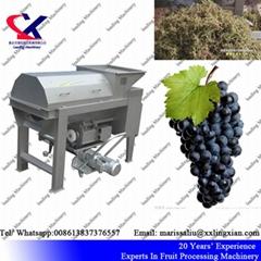 China Direct Manufacturer Grape Destemmer and Crusher Machine