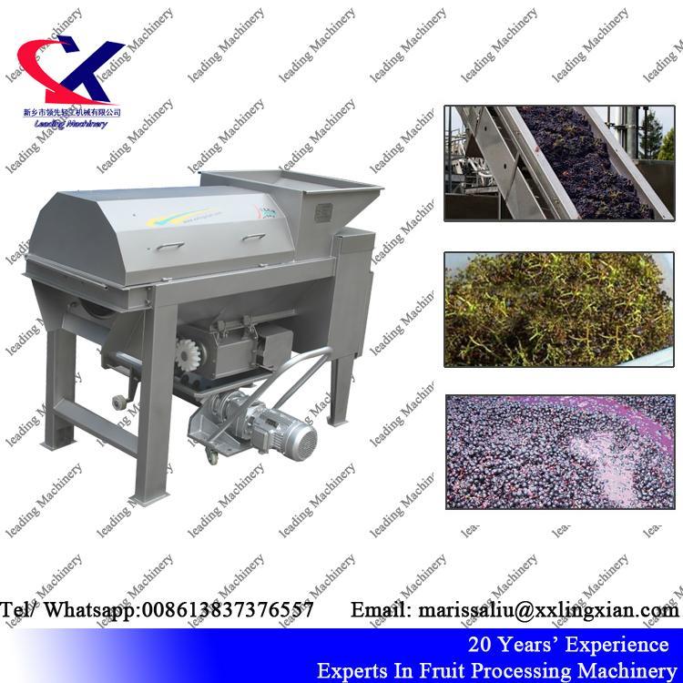 China Direct Manufacturer Grape Destemmer and Crusher Machine 5