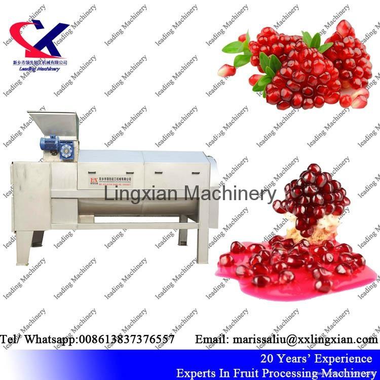 Good Performance Pomegranate Peeling Machine 3
