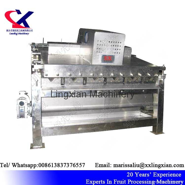 High Quality Lychee Processing Machine Litchi Peeling Machine 2
