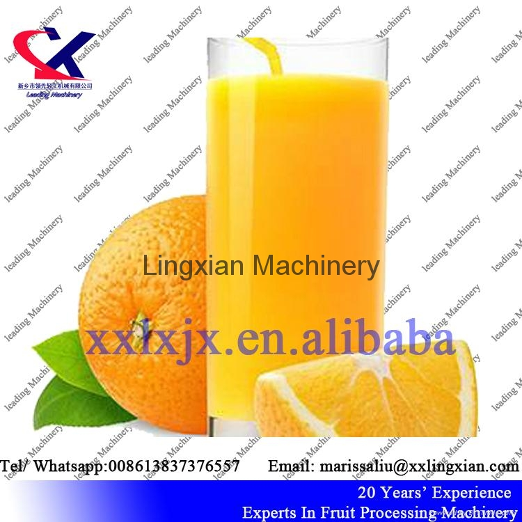 Citrus juice processing Equipment orange peeler and juicer machine 4