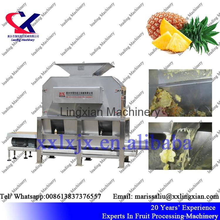 Citrus juice processing Equipment orange peeler and juicer machine 3