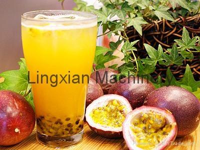 Passion Fruit Juice Extractor 3t per hour fruit pulper machine 2