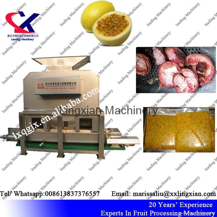 Passion Fruit Juice Extractor 3t per hour fruit pulper machine 5