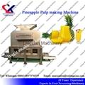 Pineapple Juice Making Machine 3t per hour pineapple peeler and juicer machine 2