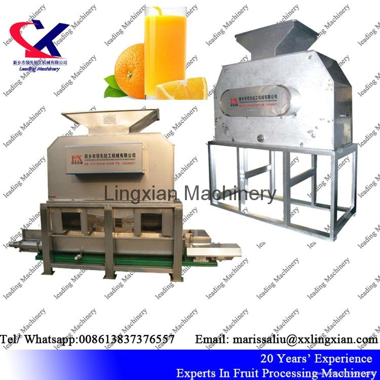 Fruit Juice processing line for citrus pineapple dragon fruit lemon 1