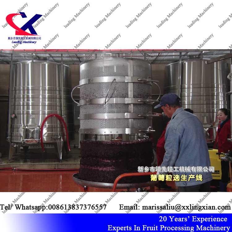 Grape Juice Factory Wine Making Machinery grape pomace drying machine 1