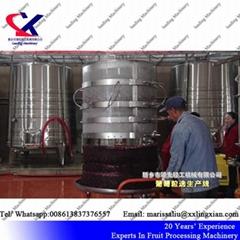 Grape Juice Factory Wine Making Machinery grape pomace drying machine